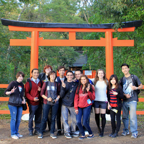 Sidebar Photo, UC Davis Study Abroad, Summer Abroad, Japan Engineering Program