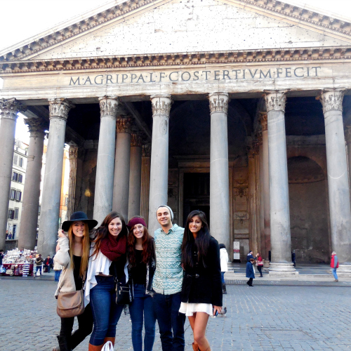 Sidebar Photo, UC Davis Study Abroad, Summer Abroad Italy, Art, Culture, History in the Eternal City Program