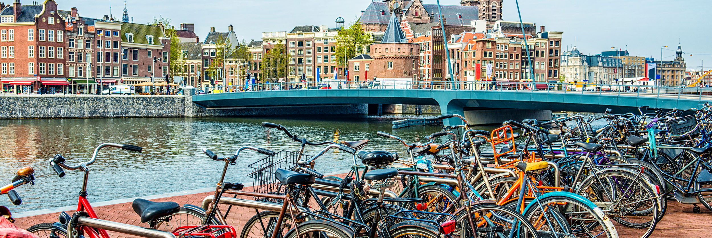 UC Education Abroad Program (UCEAP) Banner, Photo of Amsterdam Program