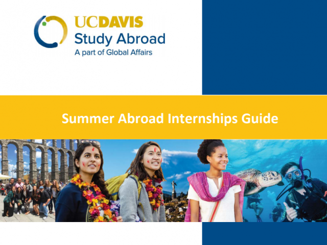 Summer Abroad Internships Guide and Handbook