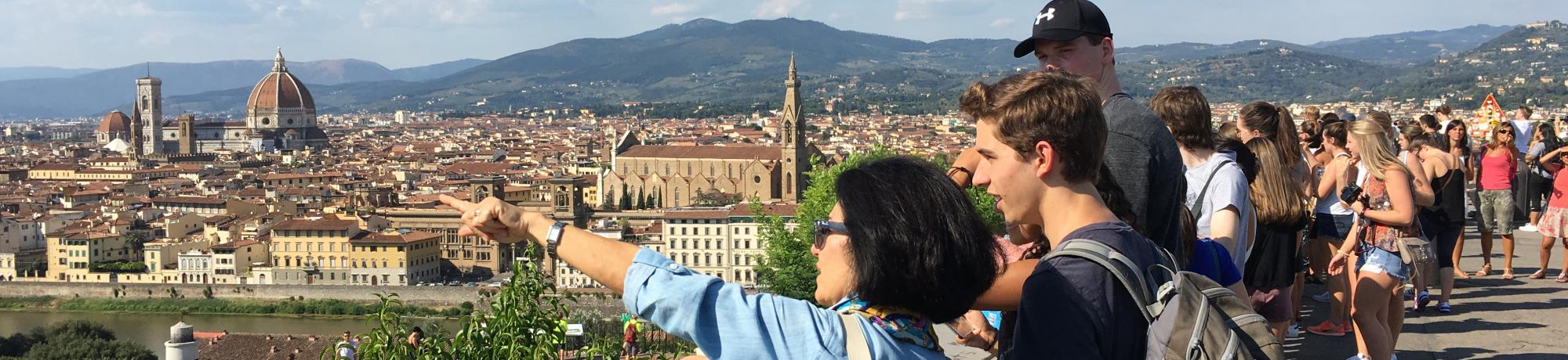 UC Davis Study Abroad, Quarter Abroad Italy, Language & Culture in Florence Program, Header Image