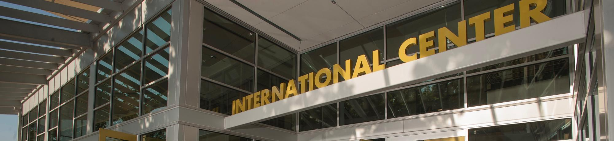 Image Header - International Center