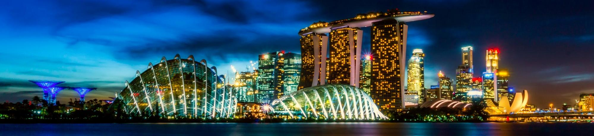 UC Davis Study Abroad, Summer Internships Abroad Singapore, Business and Communication Program, Header Image